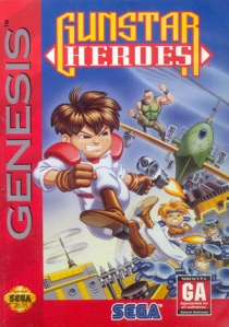 Gunstar Heroes Cover Art