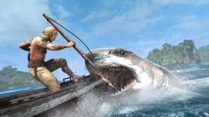 AC IV Black Flag Shark Attack