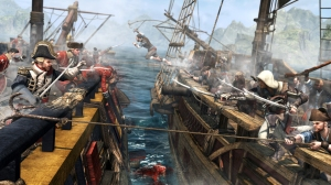 AC IV Black Flag Ship Boarding