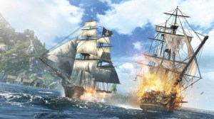 AC IV Black Flag Ship Combat