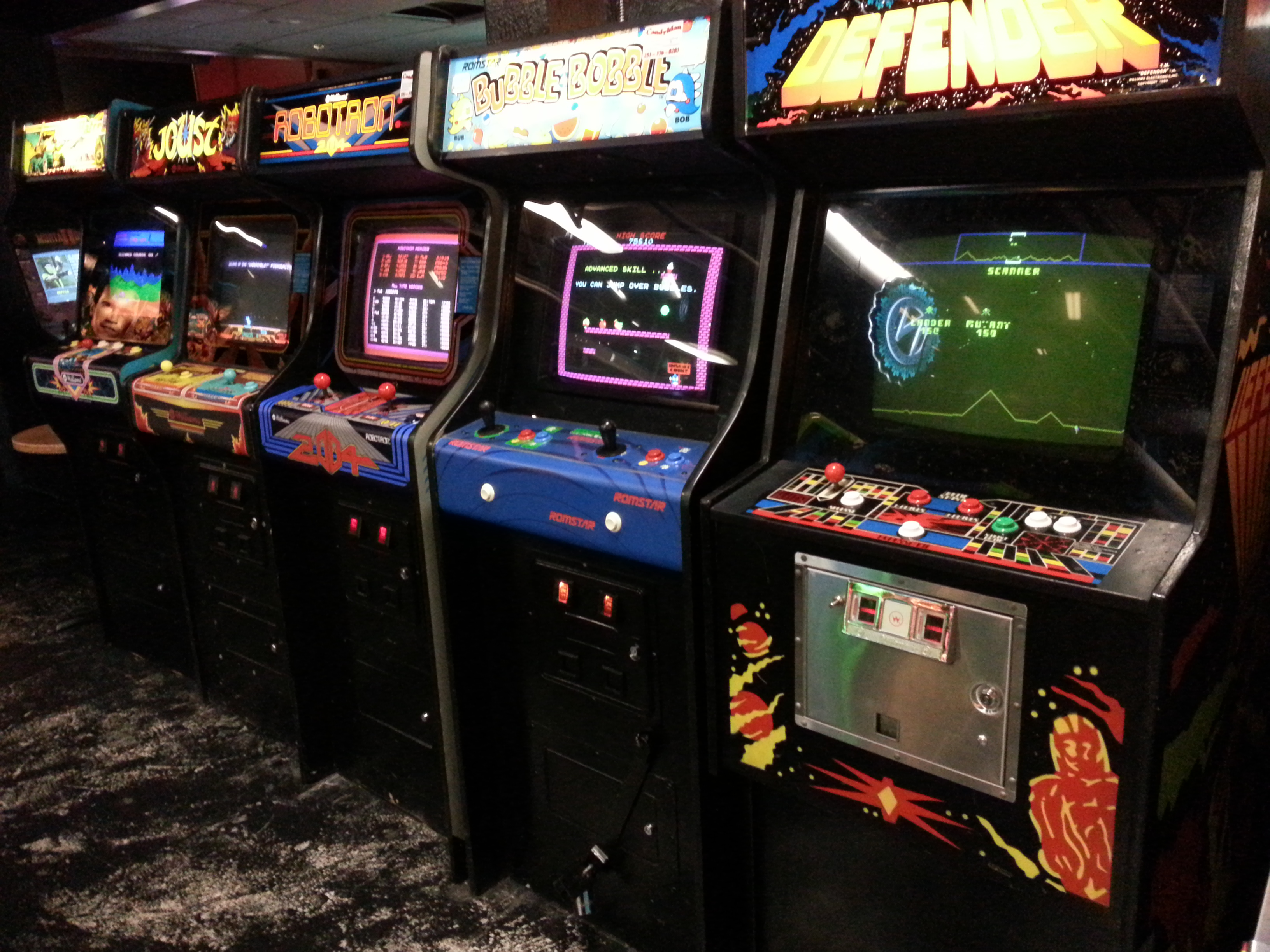 Vintage Arcade Games >> The video arcade: What the Uncommon Geek looks for is hard to find. | The Uncommon Geek