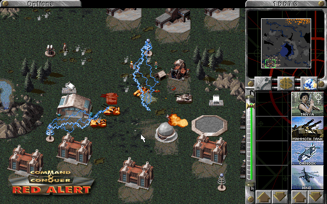 Retro Game Geek Out A Review Of Command Amp Conquer Red