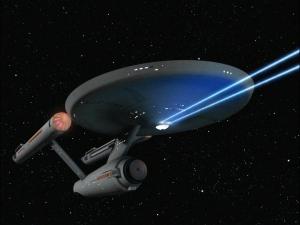 Enterprise Blue Phasers