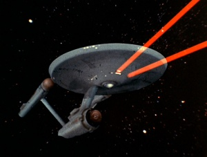 Enterprise Red Phasers