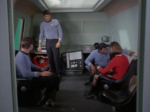 The Galileo Seven Crew