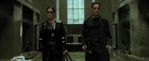 The Matrix Lobby Scene