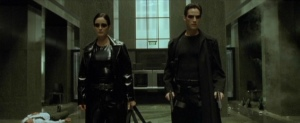 The Matrix Lobby Scene