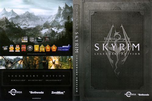 Skyrim Legendary Edition cover