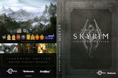 Skyrim Legendary Edition cover