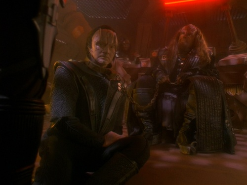 Mirror Worf and Mirror Garak