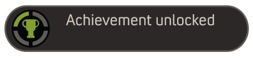 Achievement Unlocked Template