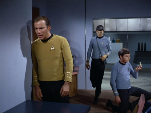Kirk finds his brother and nephew