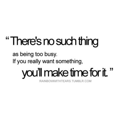 Make Time for Making Time: Or, Why I Don't Have a Blog Entry for ...