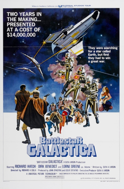 Battlestar Galactica (1978) Movie Poster