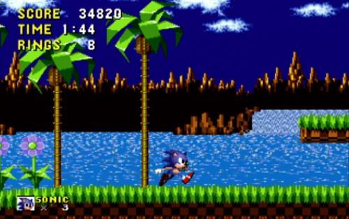 Sonic Gameplay1
