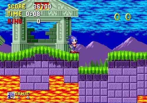 Sonic Gameplay2
