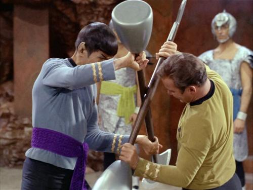 Kirk Versus Spock