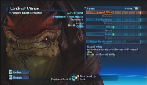 Wrex Squad Screen