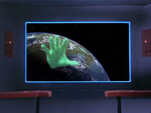 The big giant hand