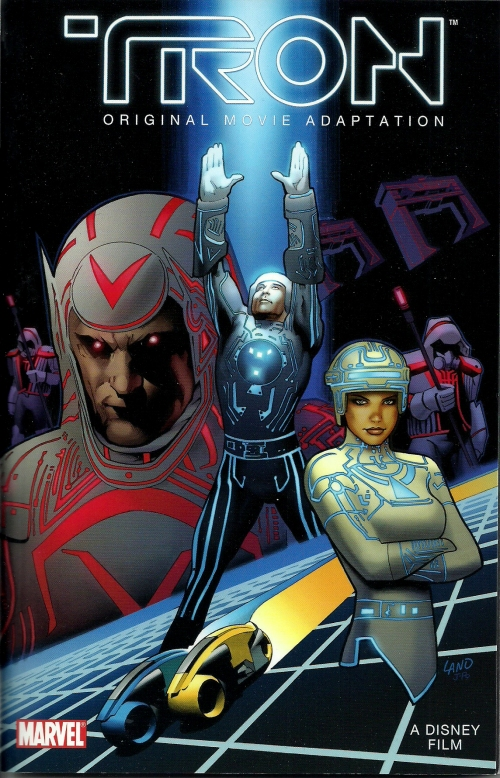 TRON comic cover0001