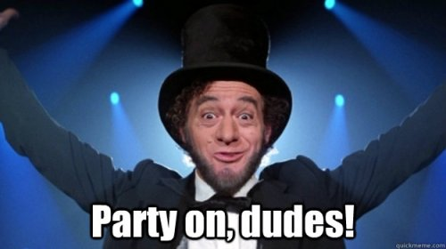 Party on!